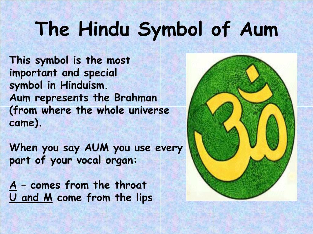 The Hindu Symbol of Aum