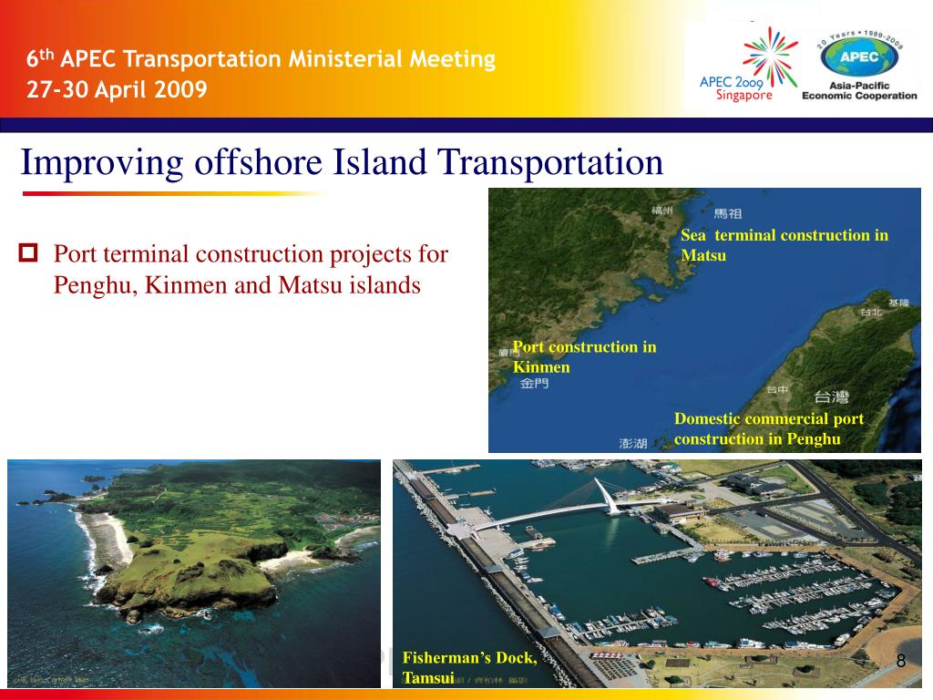 Improving offshore Island Transportation
