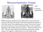 histogram equalization example33