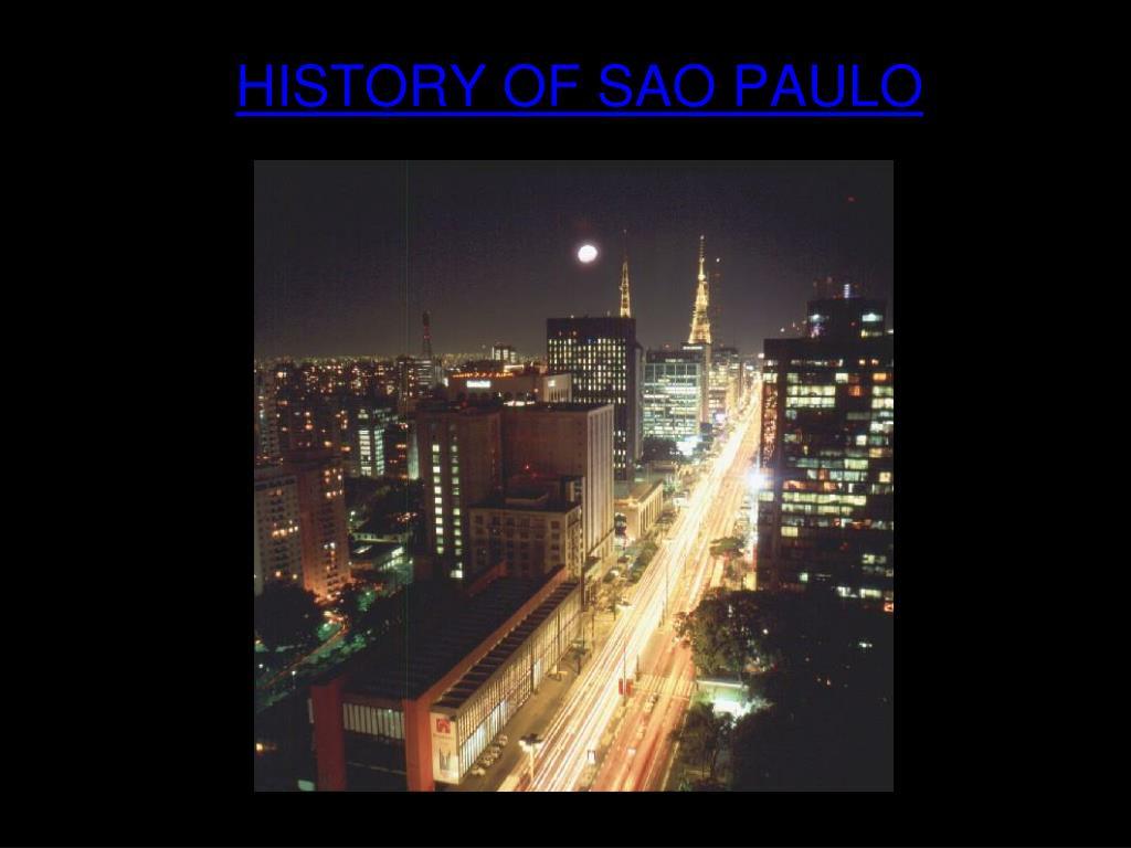 history of sao paulo l.