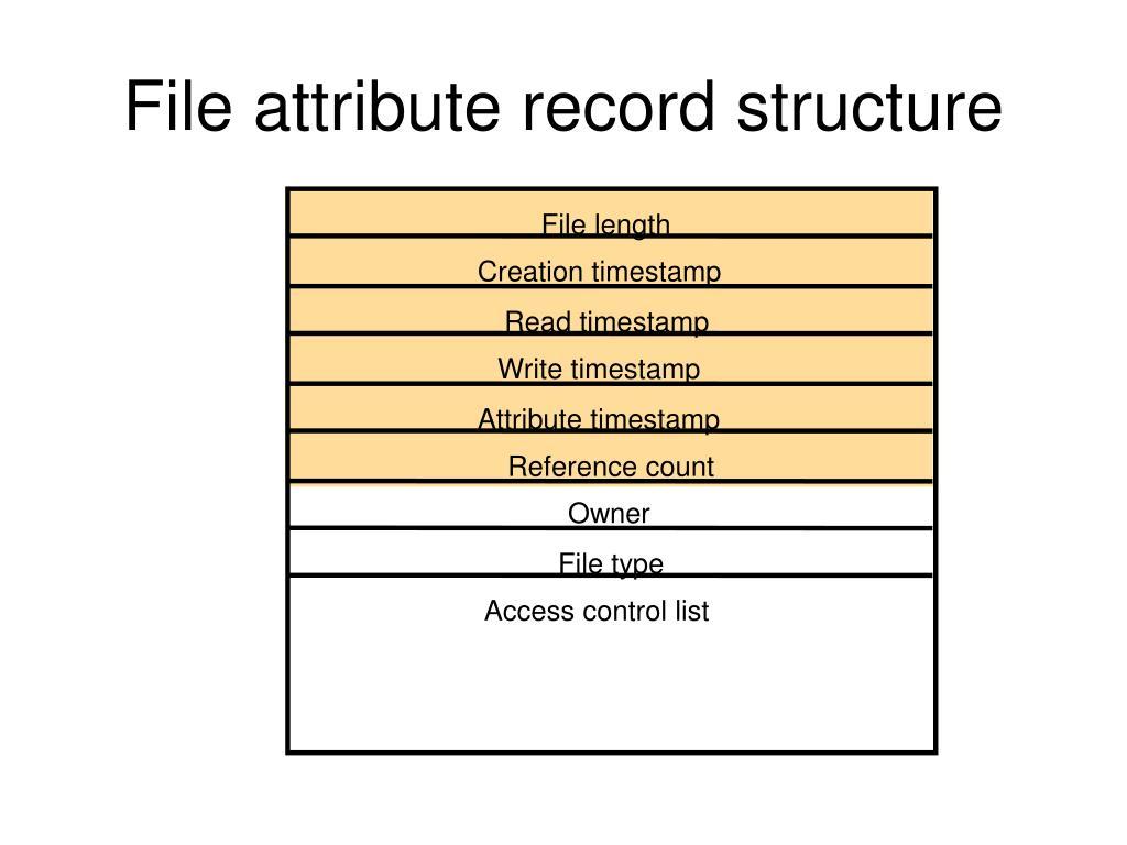File length