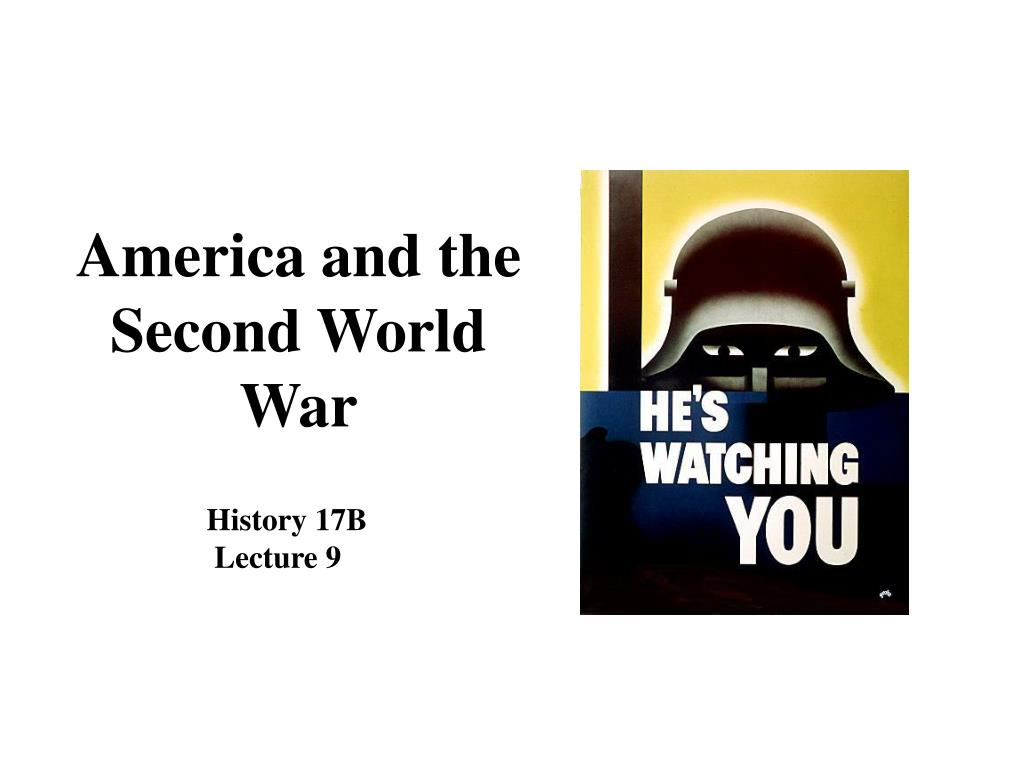 america and the second world war l.