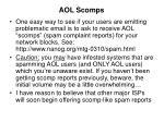 aol scomps