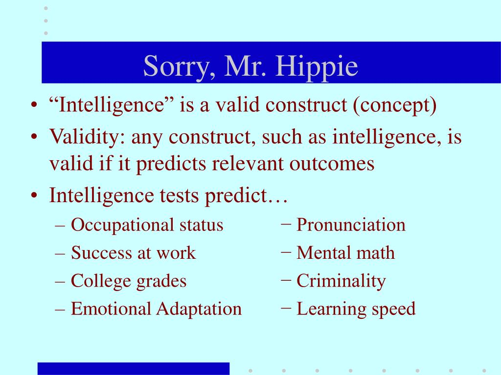 Sorry, Mr. Hippie