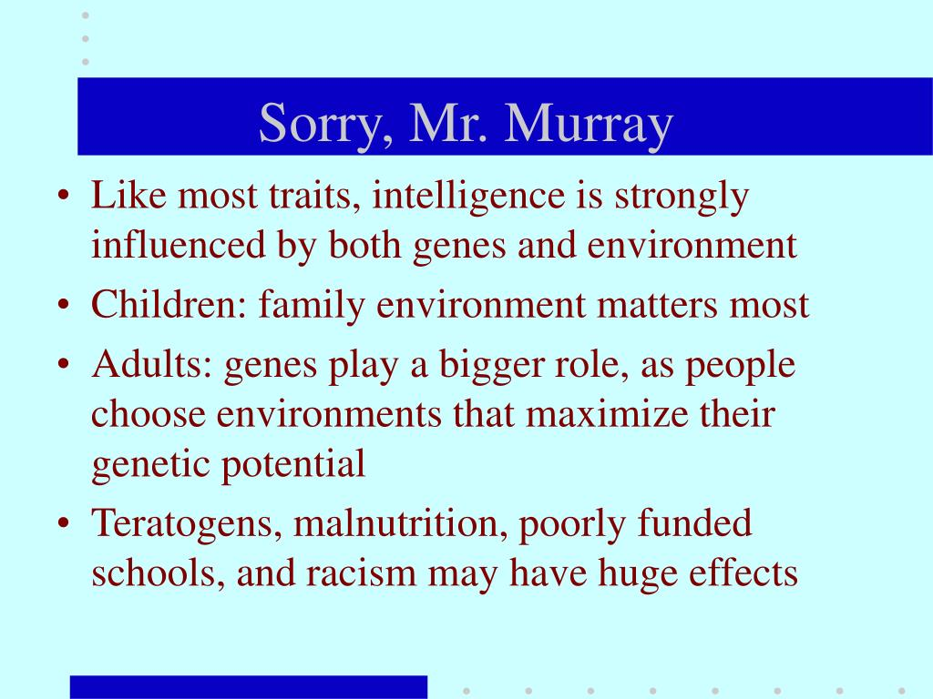 Sorry, Mr. Murray