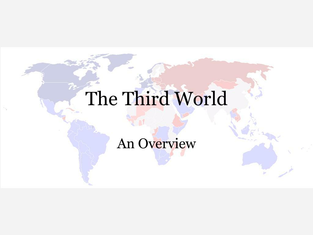 the third world l.