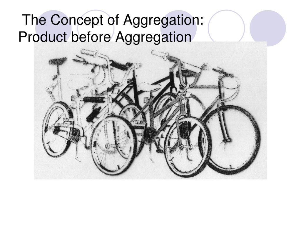 The Concept of Aggregation:
