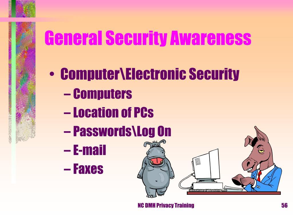 General Security Awareness