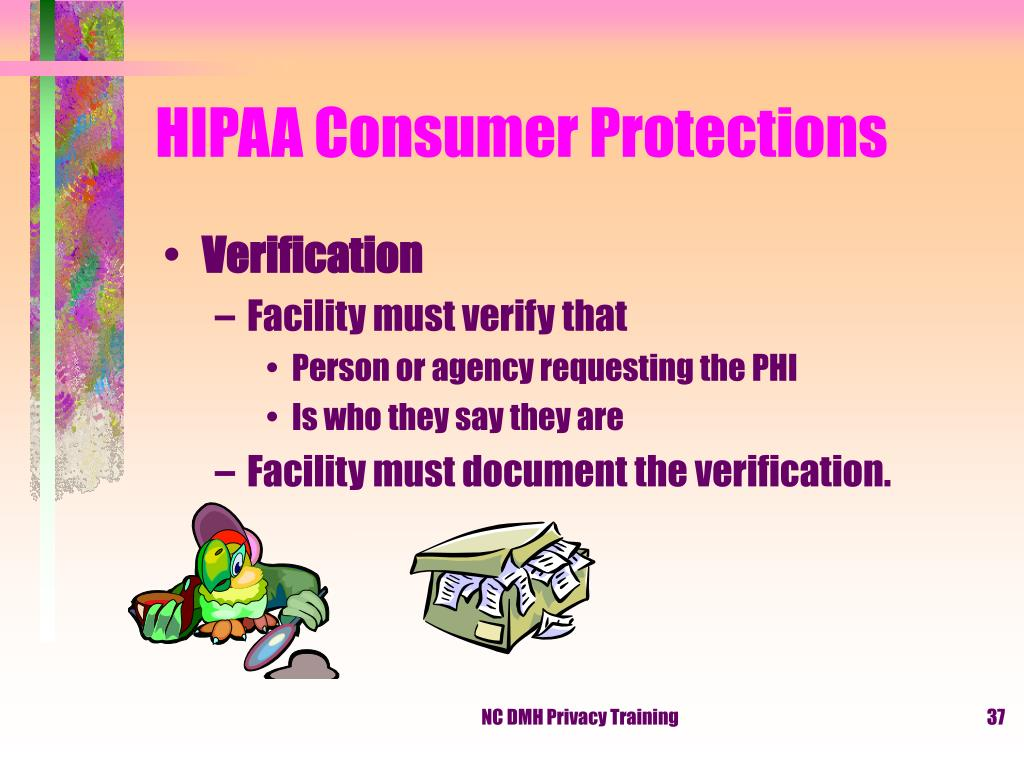 HIPAA Consumer Protections