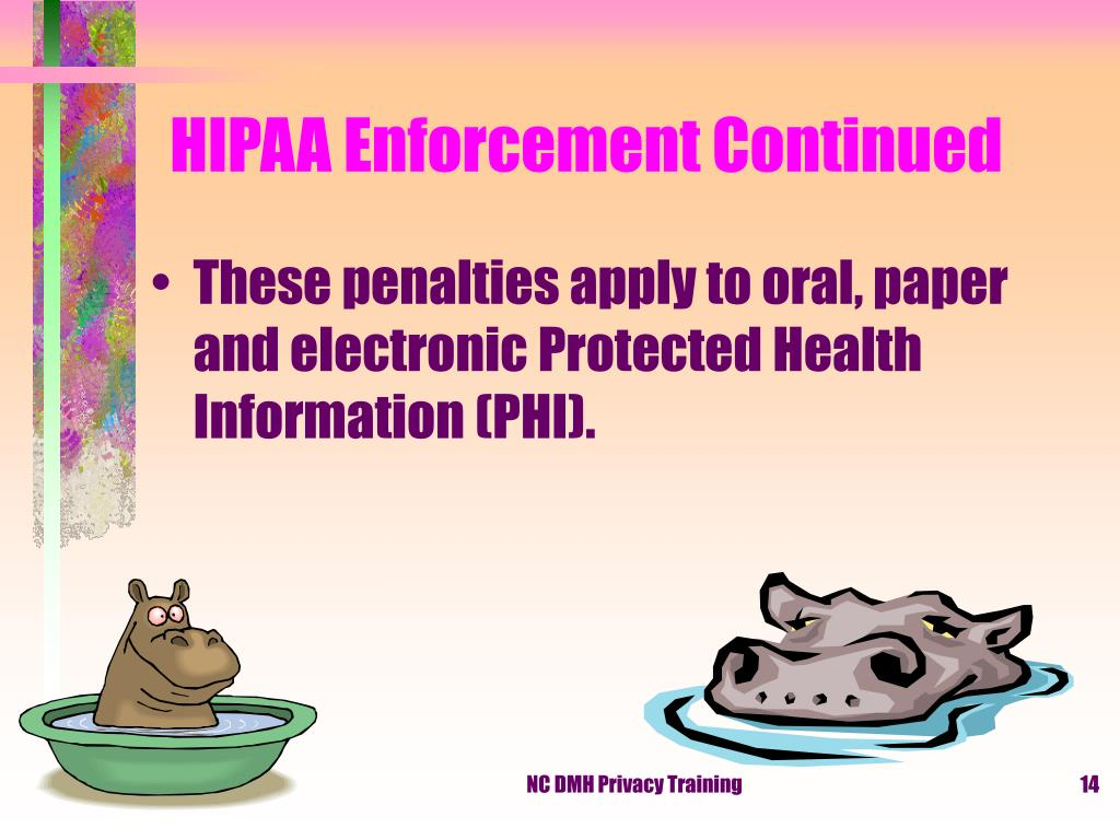 HIPAA Enforcement Continued