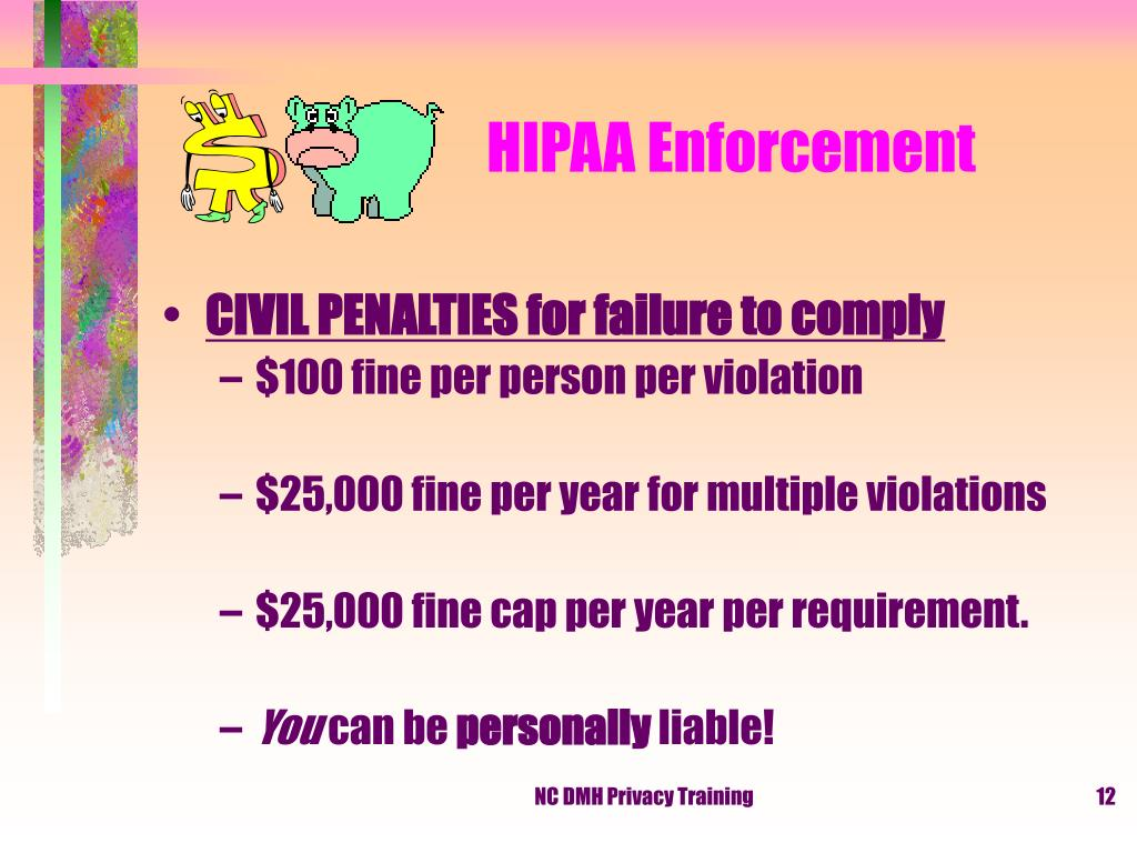 HIPAA Enforcement