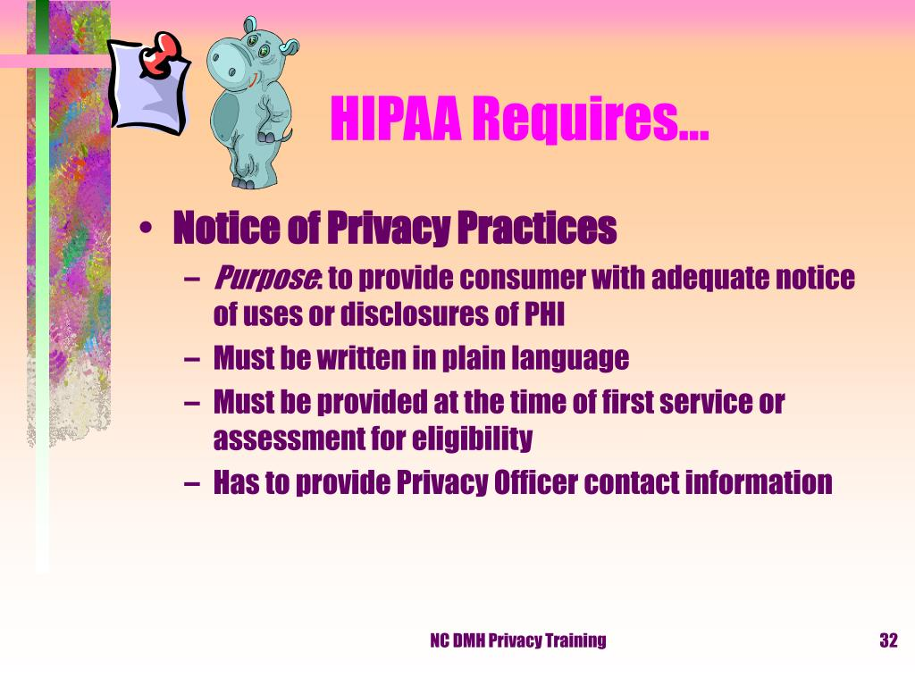 HIPAA Requires…