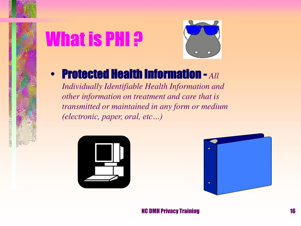 What is PHI ?