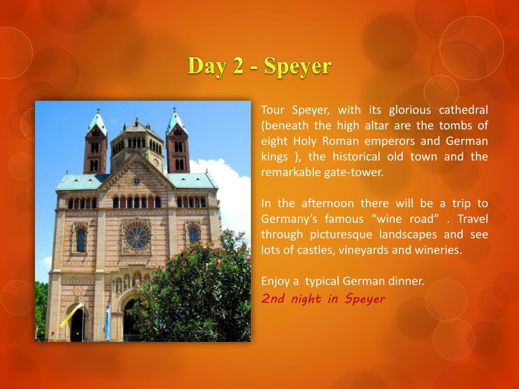 Day 2 - Speyer