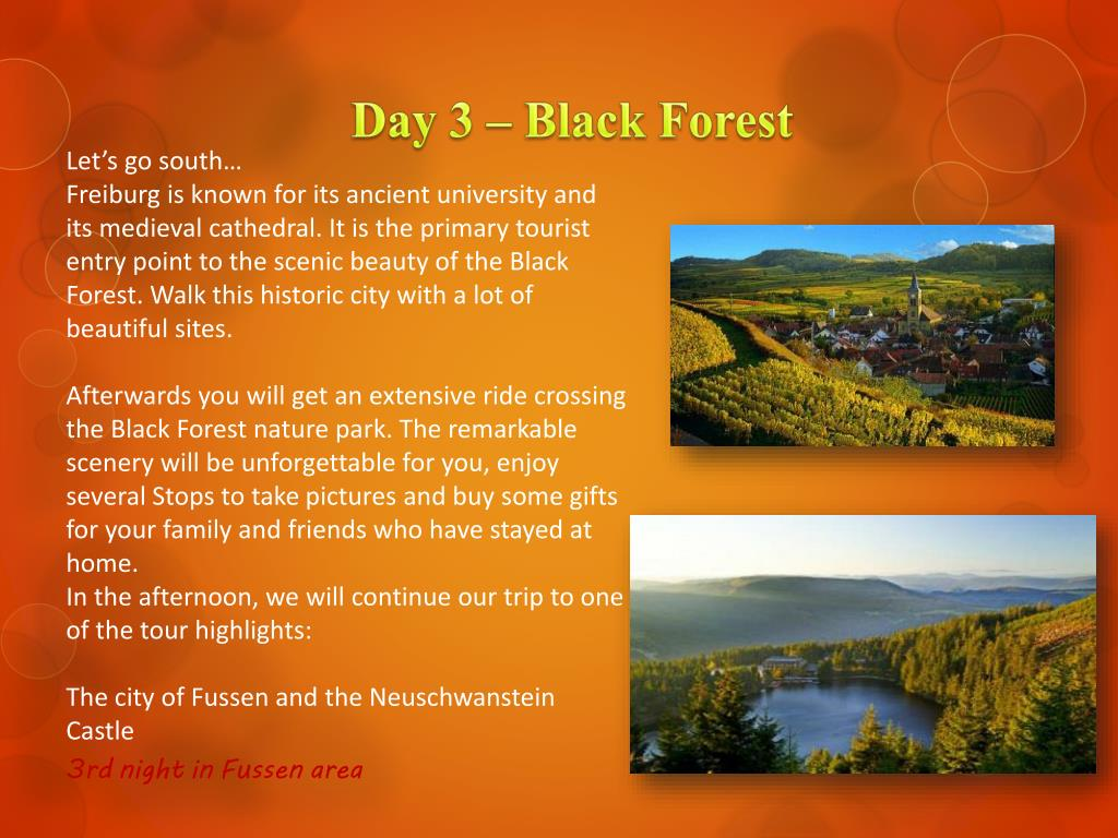 Day 3 – Black Forest