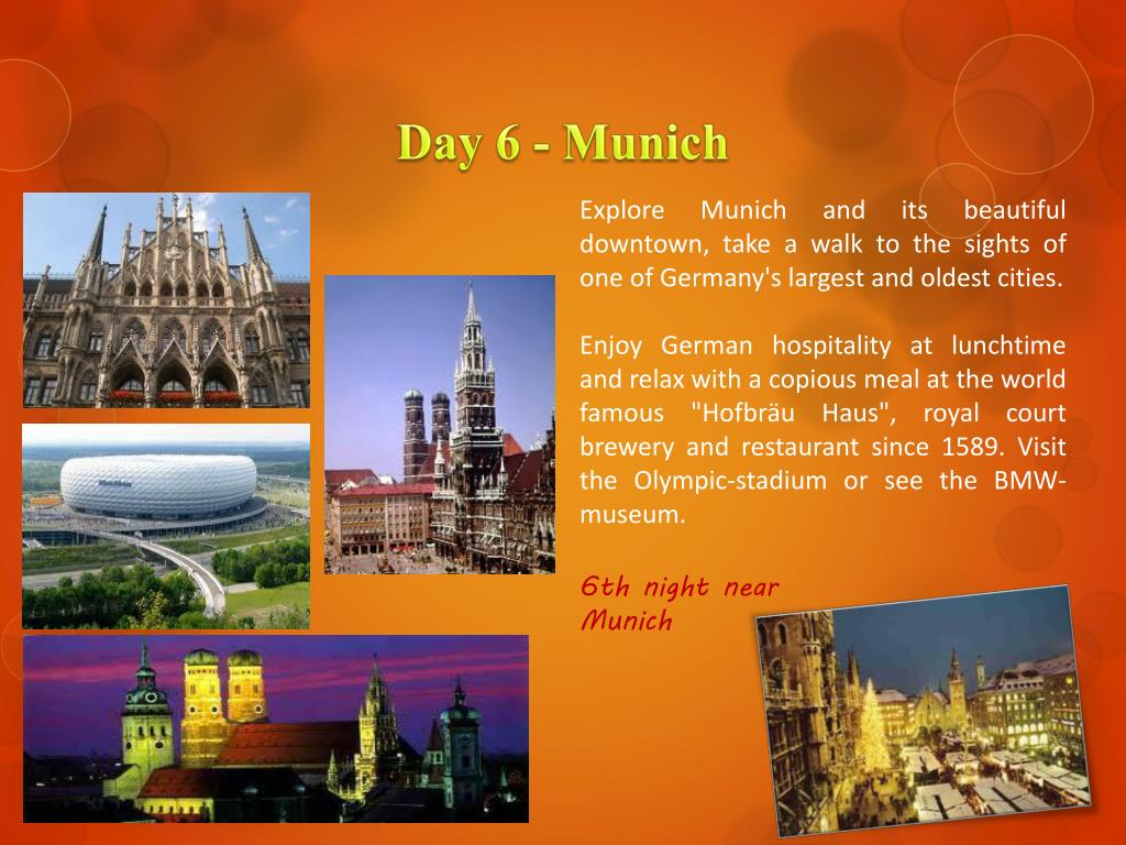 Day 6 - Munich