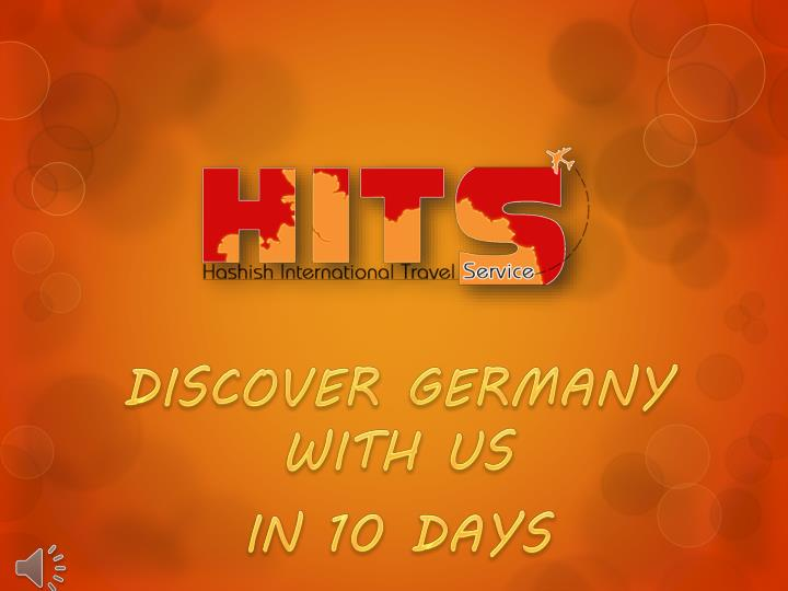 Discover germany with us in 10 days