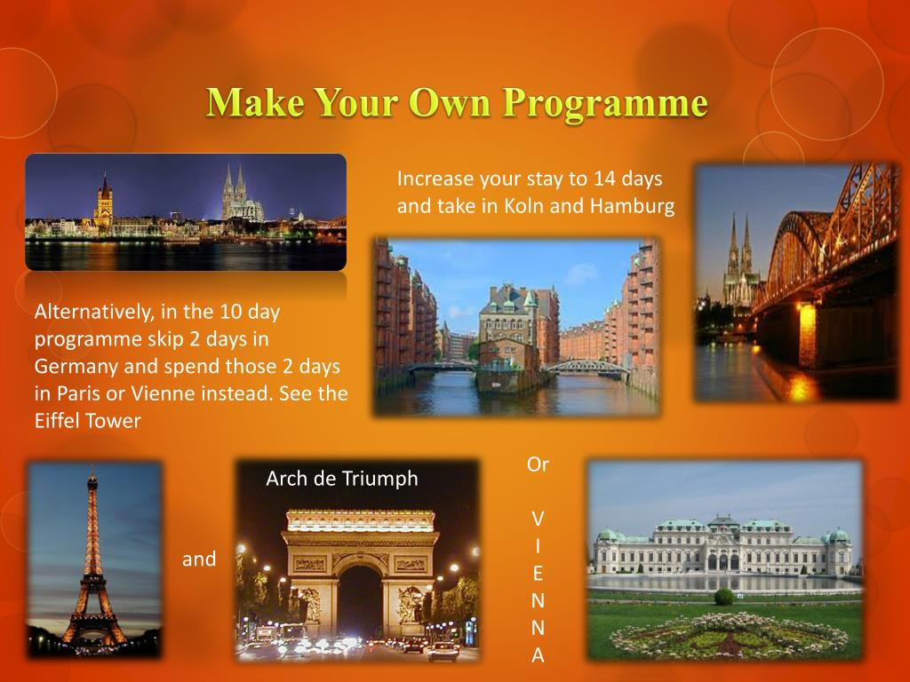Make Your Own Programme