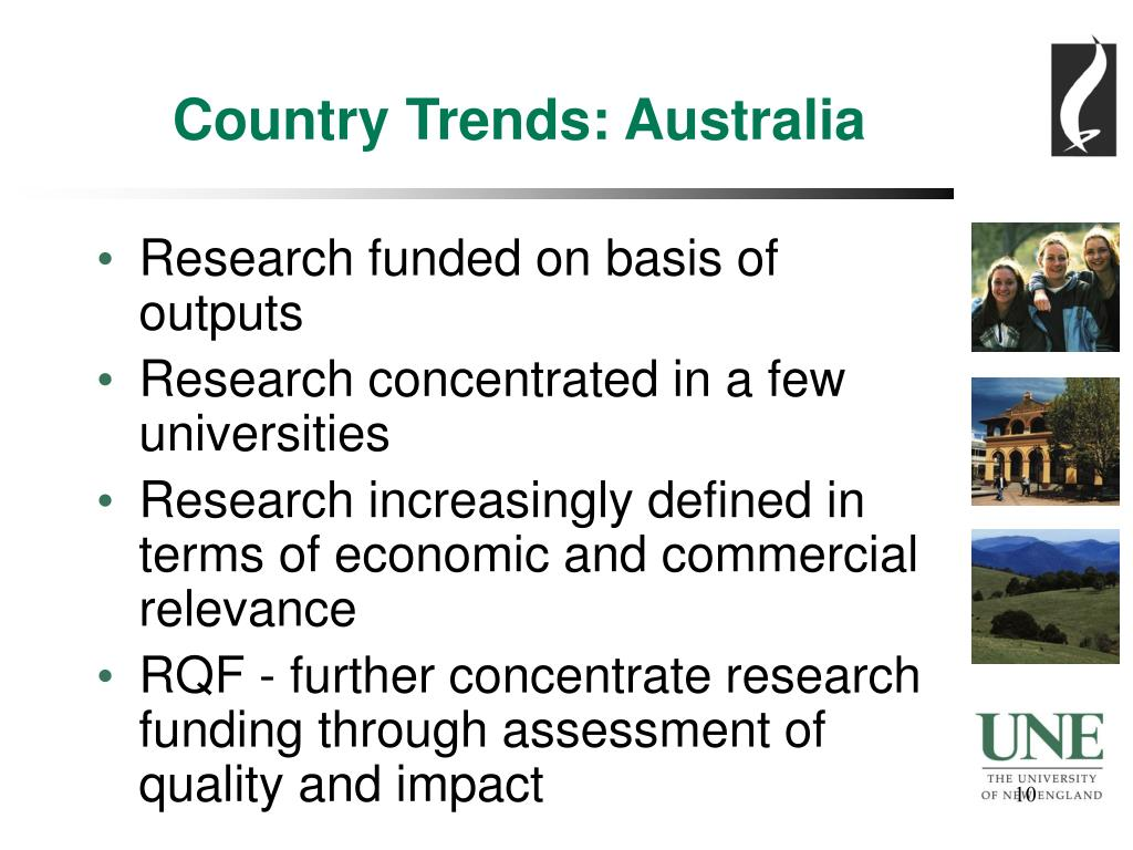 Country Trends: Australia
