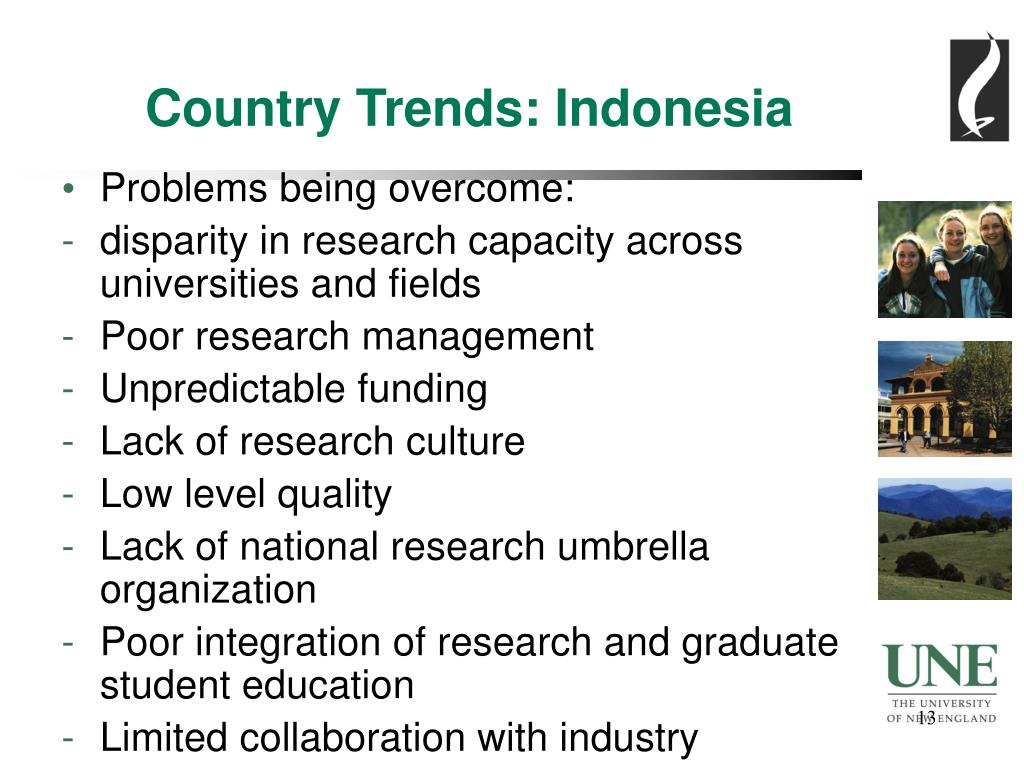 Country Trends: Indonesia