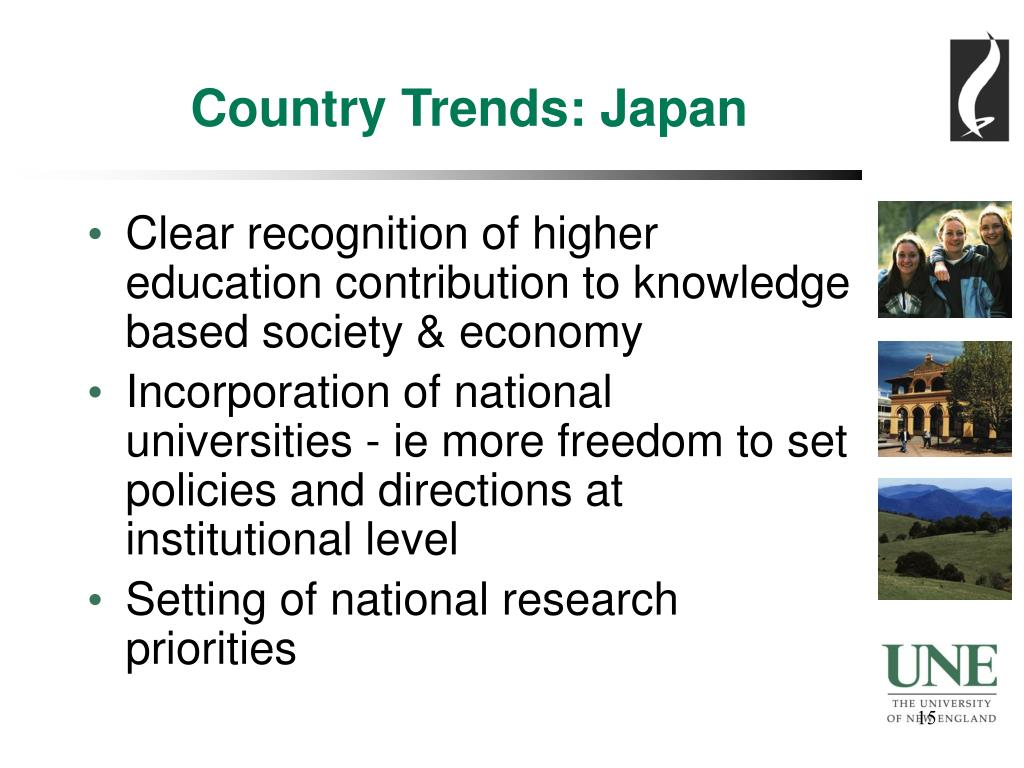 Country Trends: Japan