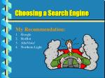 choosing a search engine18