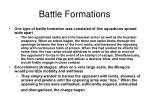 battle formations