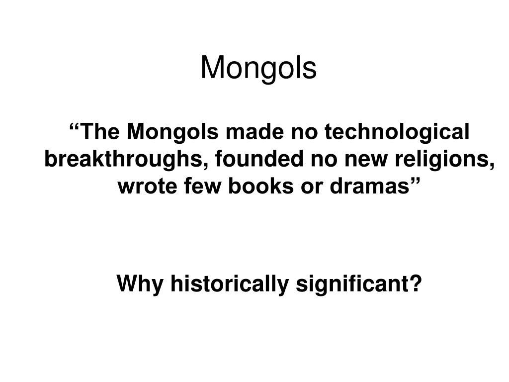 mongols l.