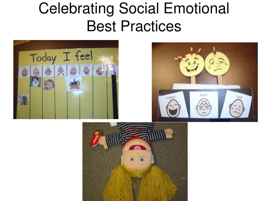 Celebrating Social Emotional