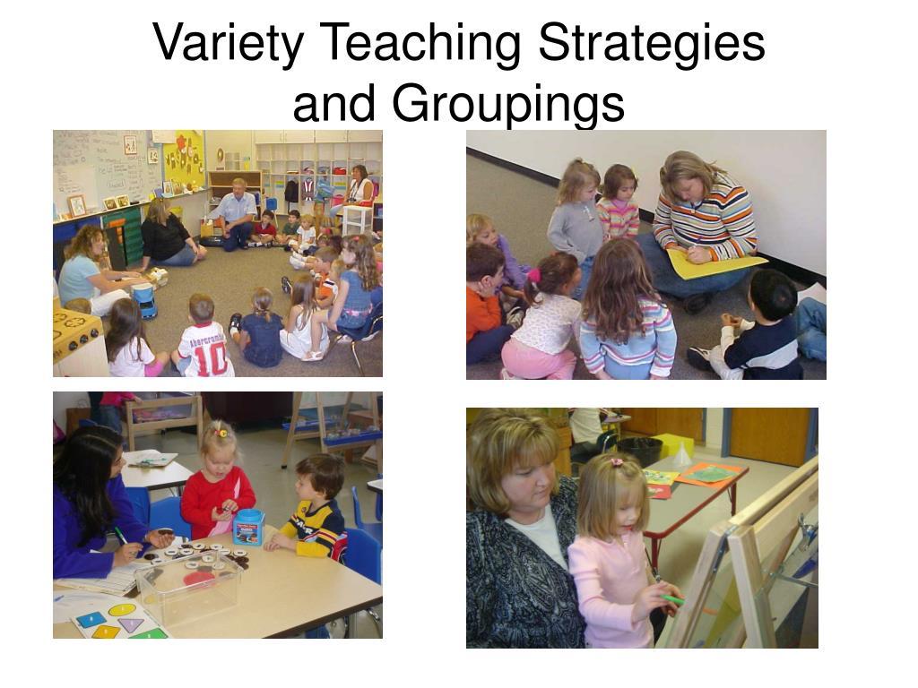 Variety Teaching Strategies