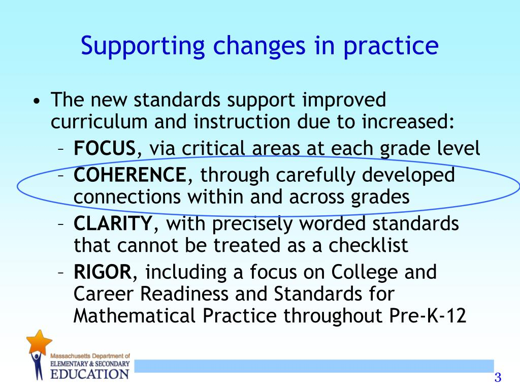Supporting changes in practice