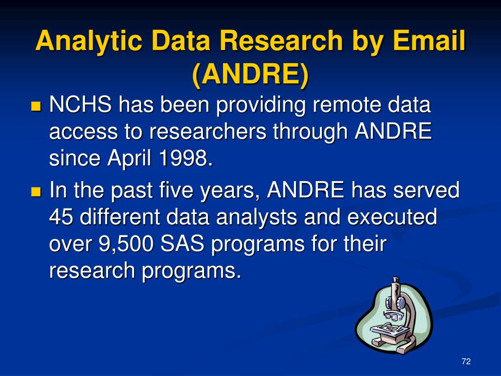 Analytic Data Research by Email (ANDRE)