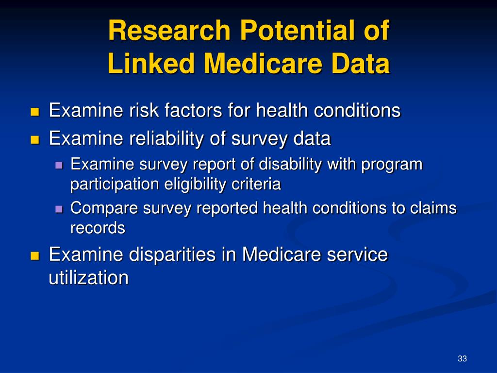 Research Potential of