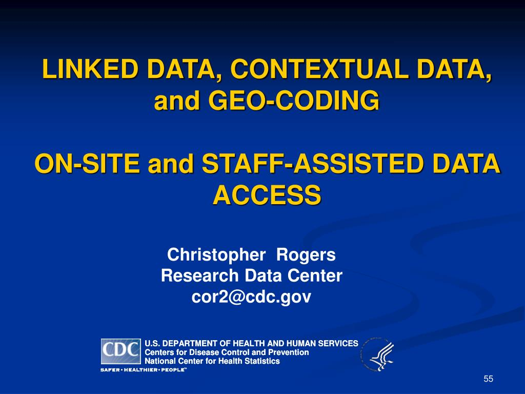 LINKED DATA, CONTEXTUAL DATA, and GEO-CODING
