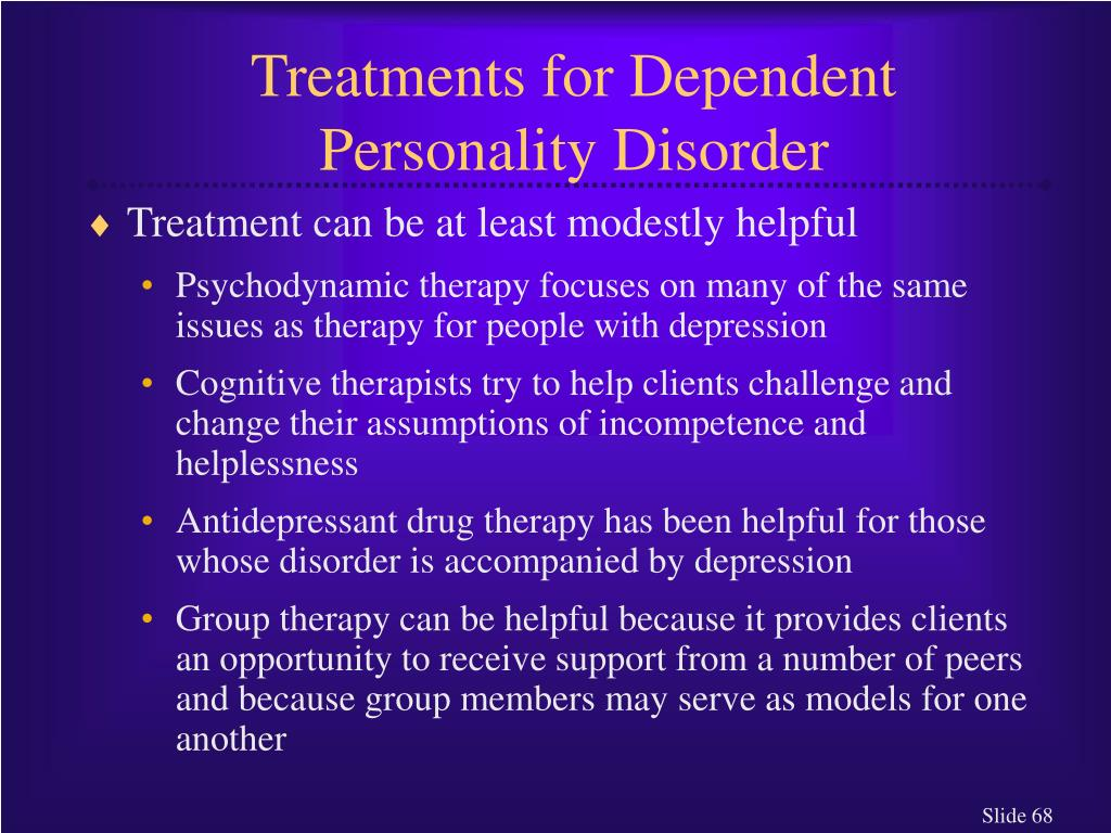 Treatments for Dependent Personality Disorder