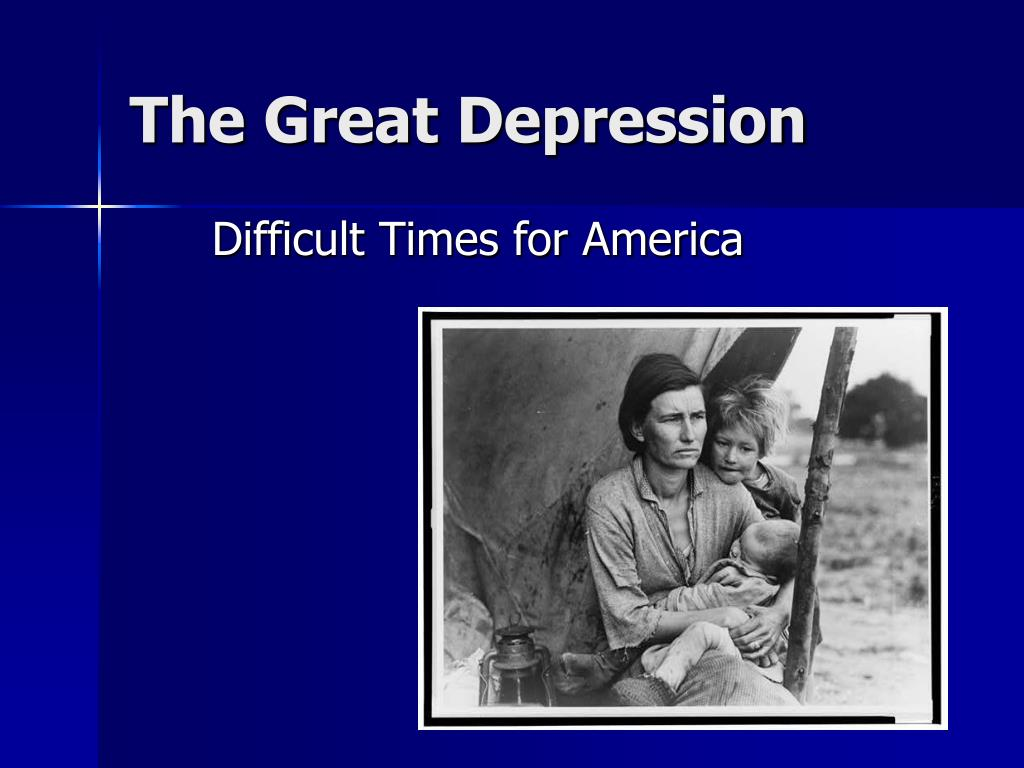 the great depression l.