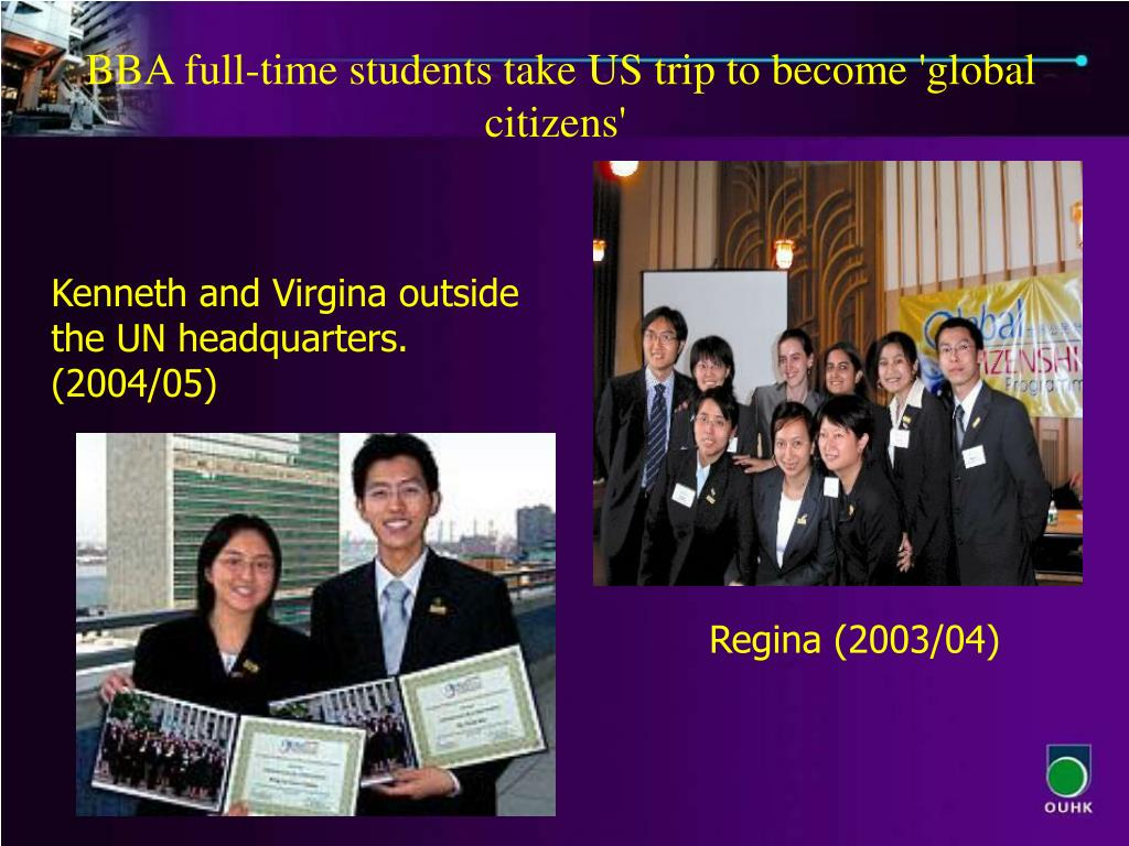 BBA full-time students take US trip to become 'global citizens'