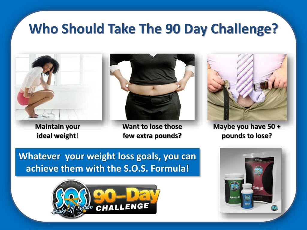 Who Should Take The 90 Day Challenge?
