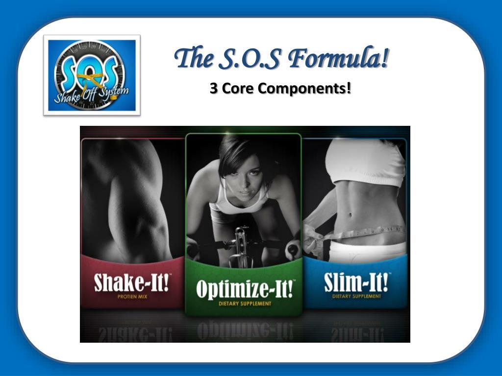 The S.O.S Formula!