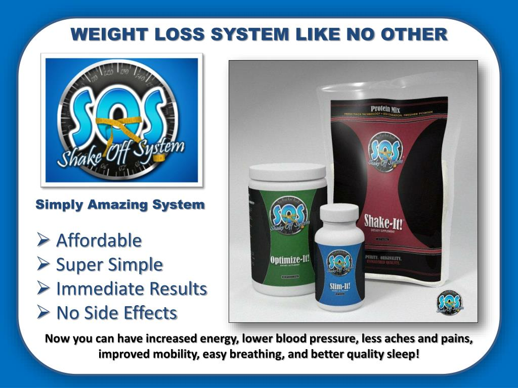 WEIGHT LOSS SYSTEM LIKE NO OTHER