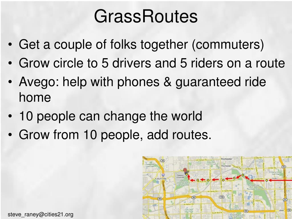 GrassRoutes