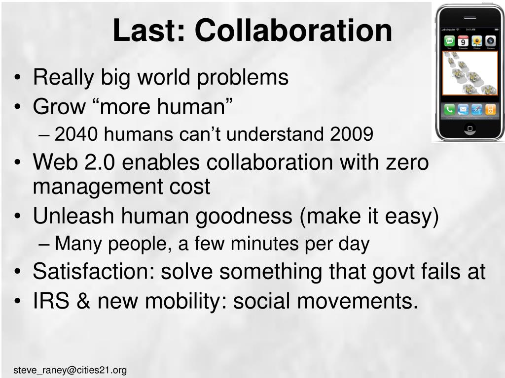 Last: Collaboration