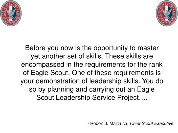 Before you now is the opportunity to master yet another set of skills. These skills are encompassed ...
