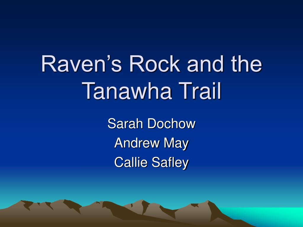 Raven's Rock and the Tanawha Trail