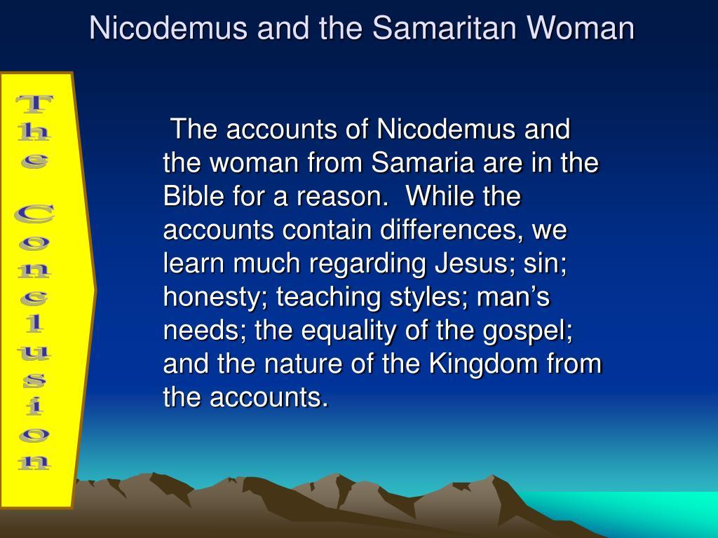 Nicodemus and the Samaritan Woman