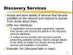 discovery services