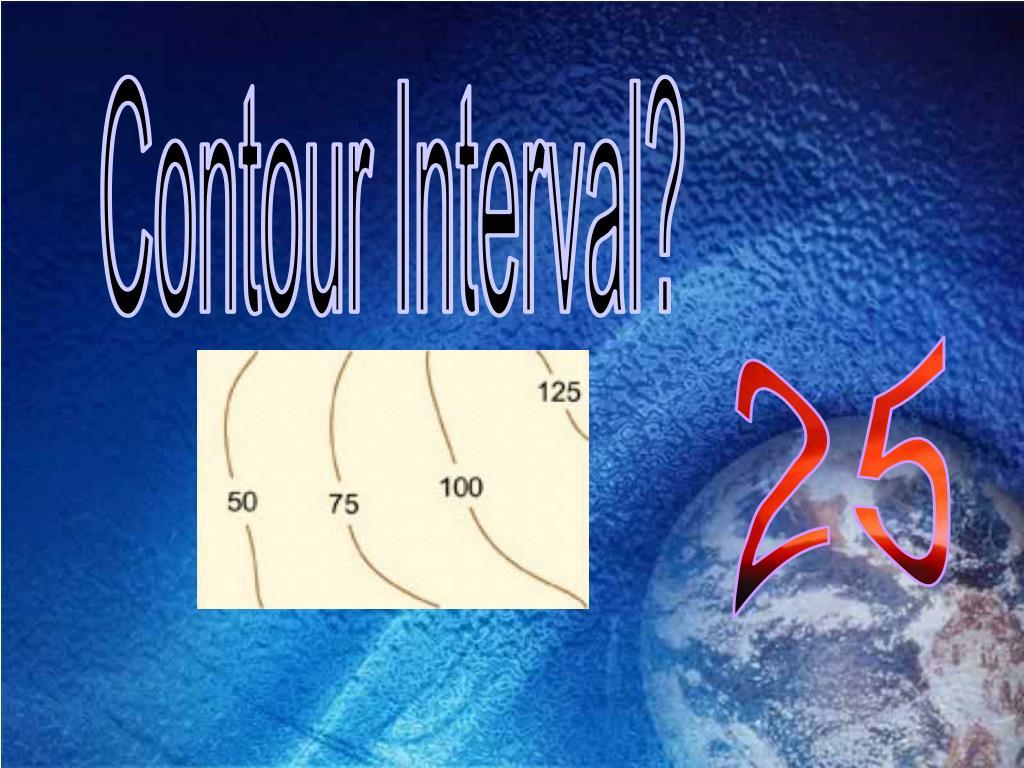 Contour Interval?