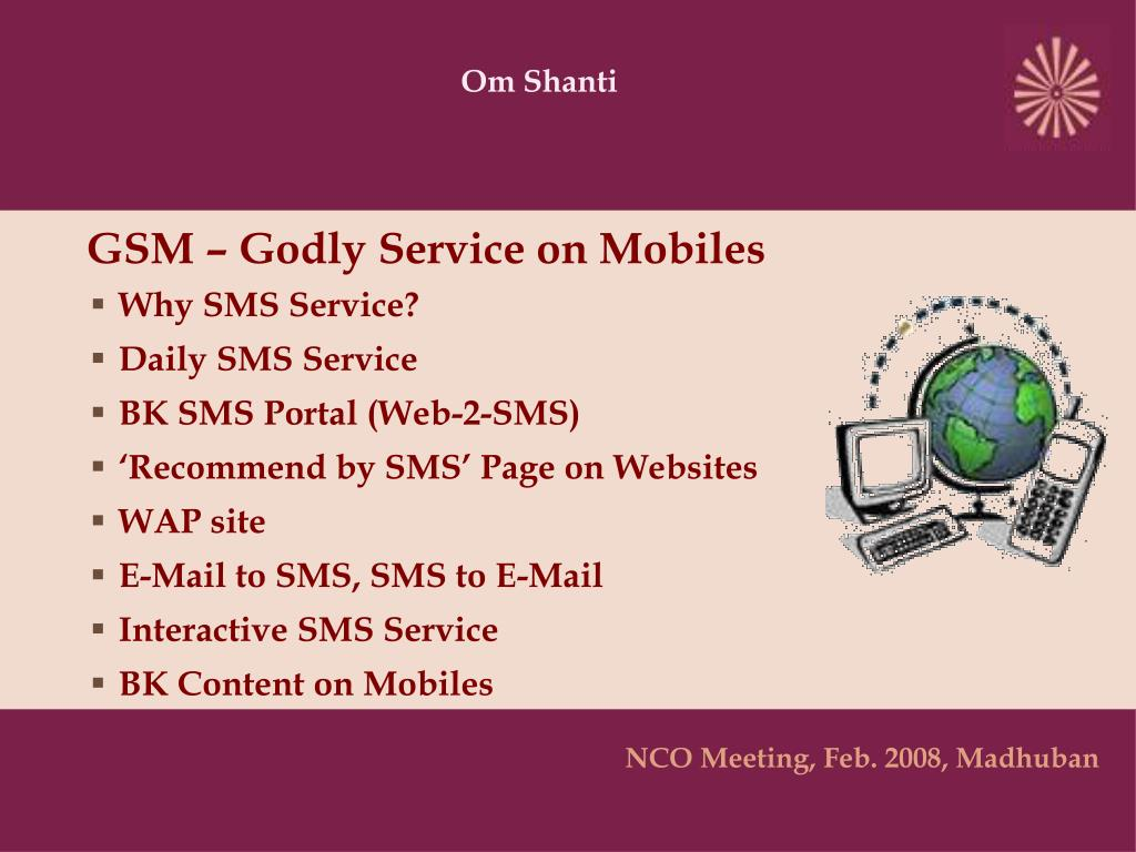 gsm godly service on mobiles l.