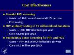 cost effectiveness2