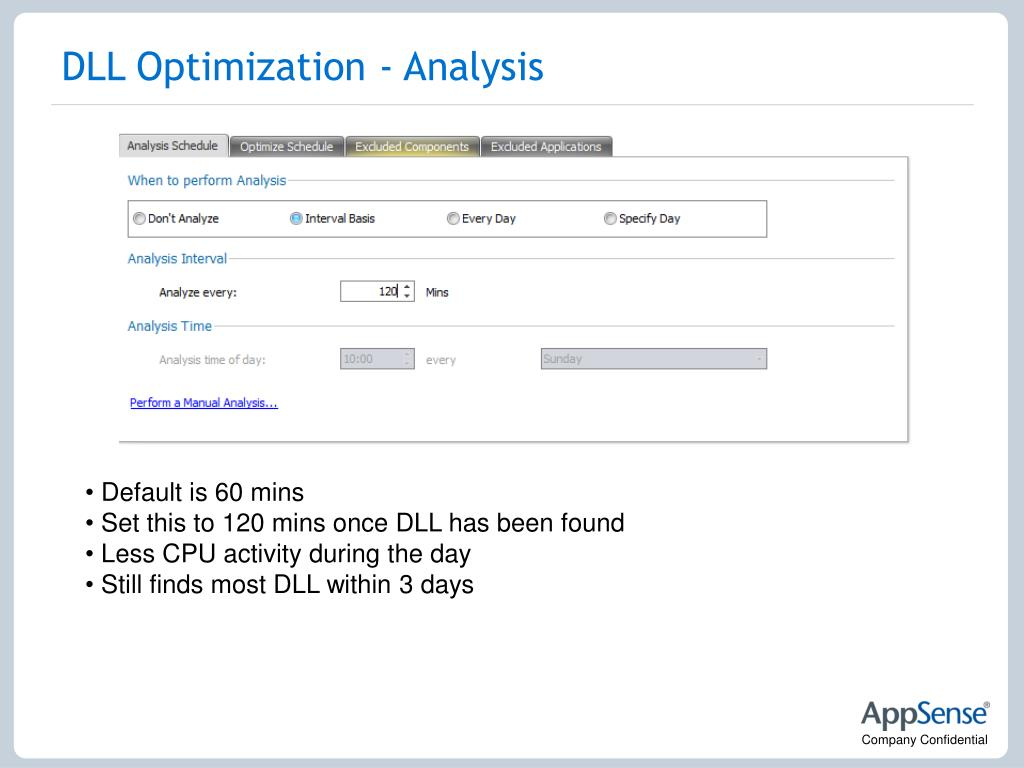 DLL Optimization - Analysis